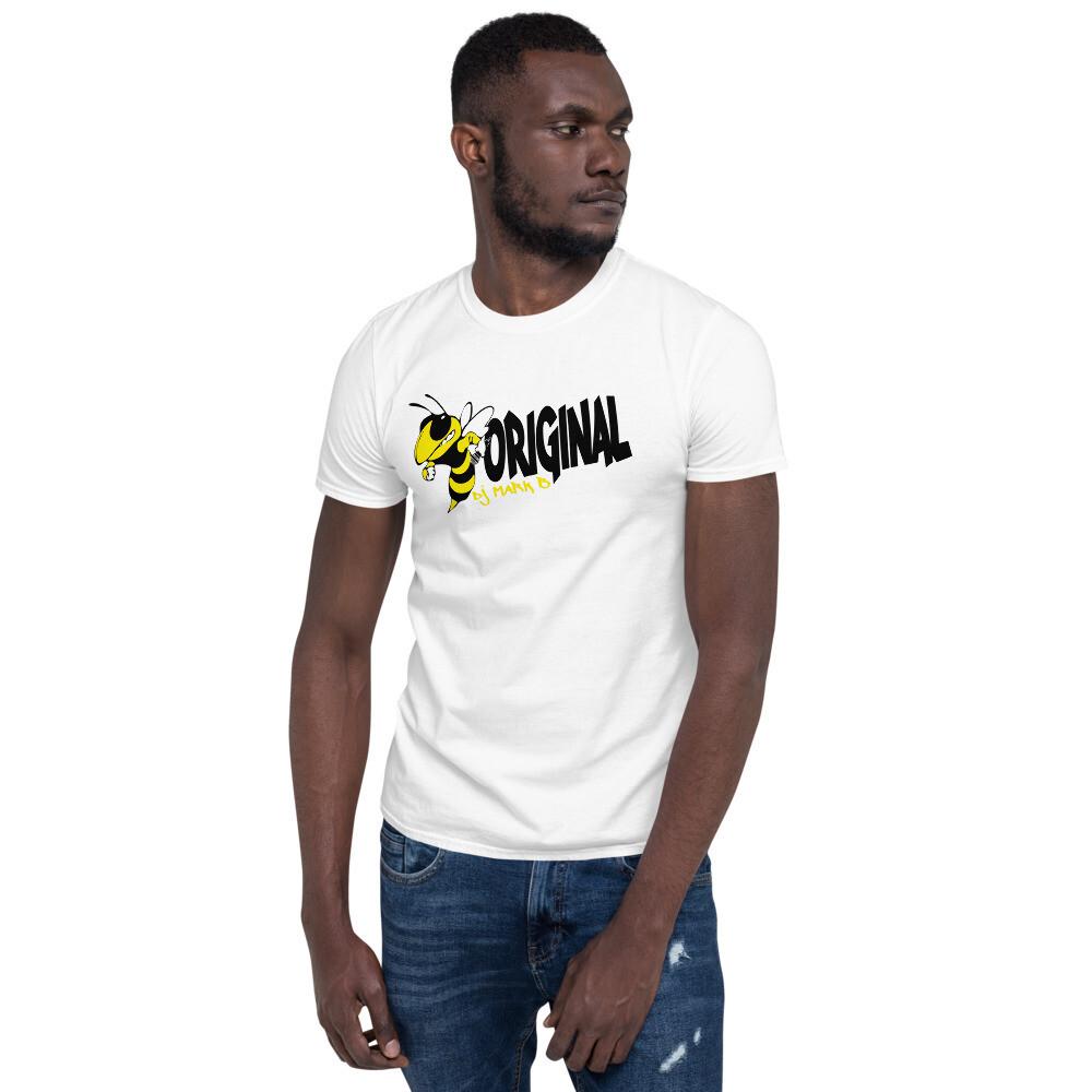 Bee Original Mark B Yellow Short-Sleeve Unisex T-Shirt
