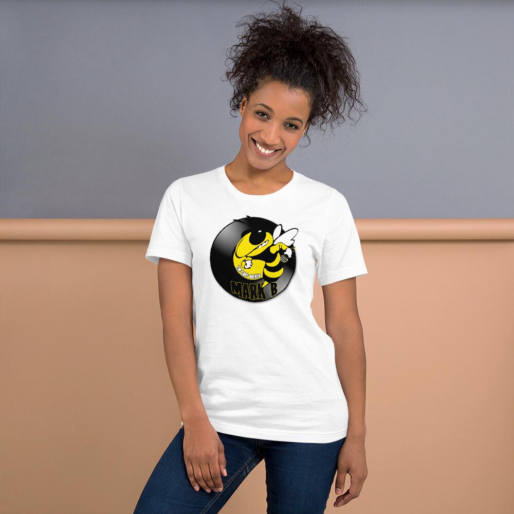 Mark B Logo Short-Sleeve Unisex T-Shirt