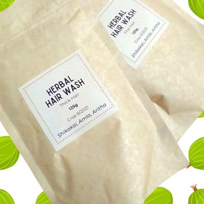 "Herbal Shampoo ""Wash & Detangle"" Mask"