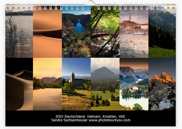 Phototour4you Calendar 2021