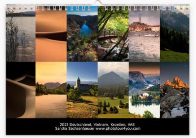 Phototour4you Calendar 2021