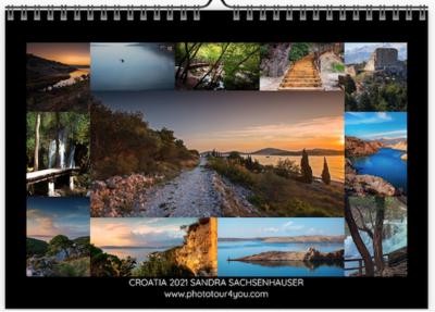 Landscapes of Croatia Calendar 2021