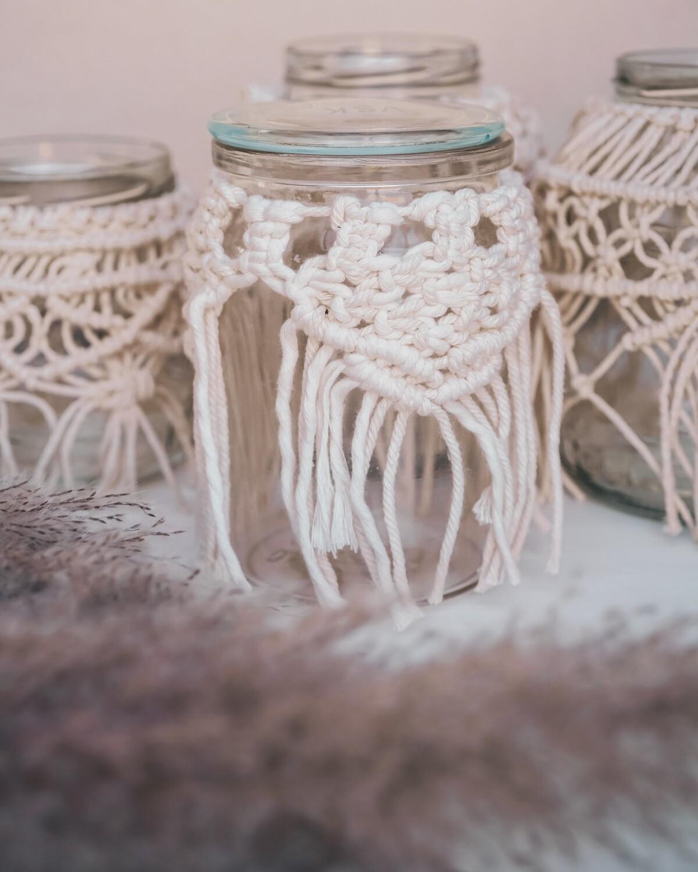 Macramee Jar