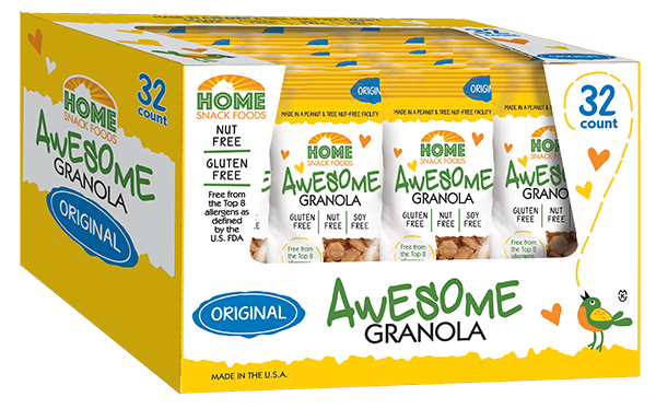 Awesome Granola - Original - 32-pack, 2.0 pouch