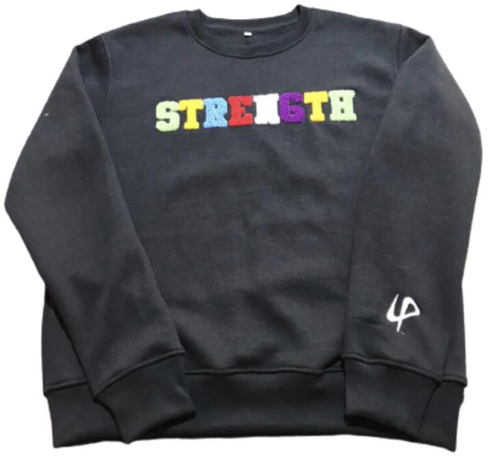 STRENGTH crewneck sweater