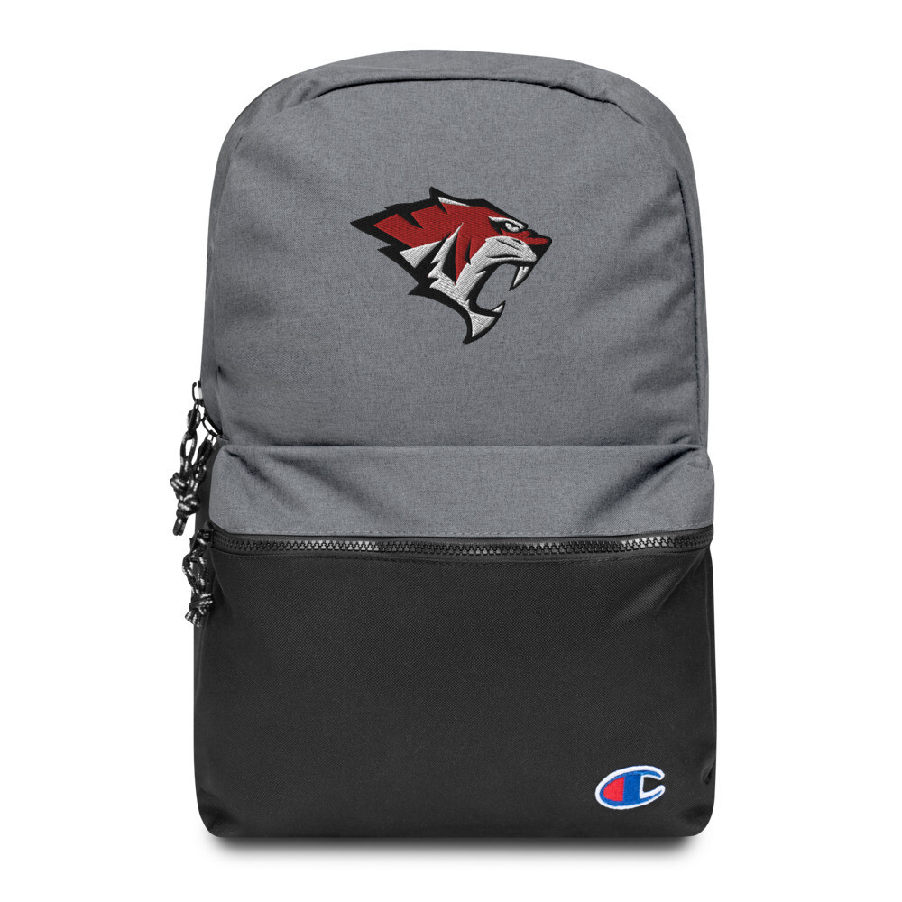 Tiger Embroidered Champion Backpack