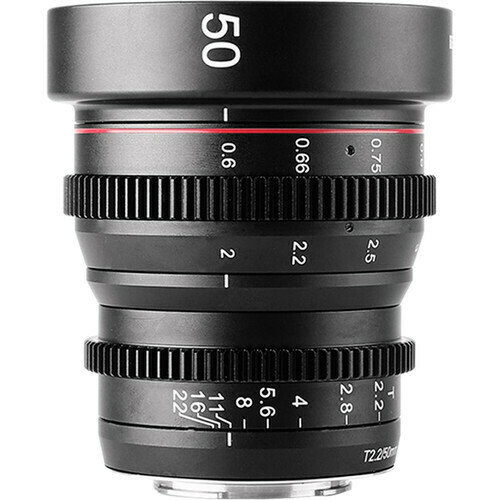 Meike 50mm T2.2 Manual Focus Cinema Lens (MFT Mount)