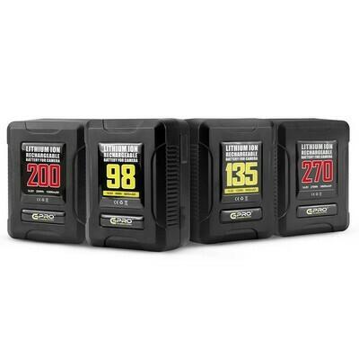 CGPro Ultra Small Size Mini V-Lock Li-Ion V-Mount Battery w/ USB Output