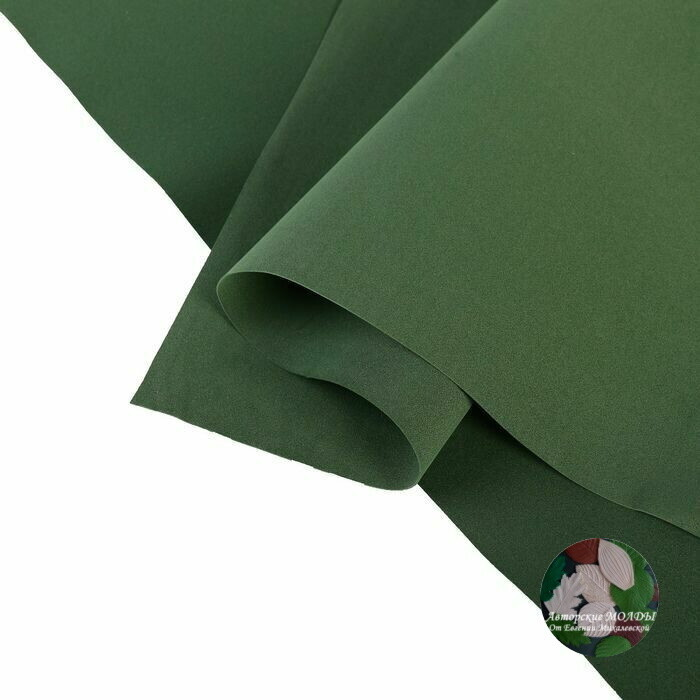 1мм 60х70см Китайский Фоамиран - Морская зелень
