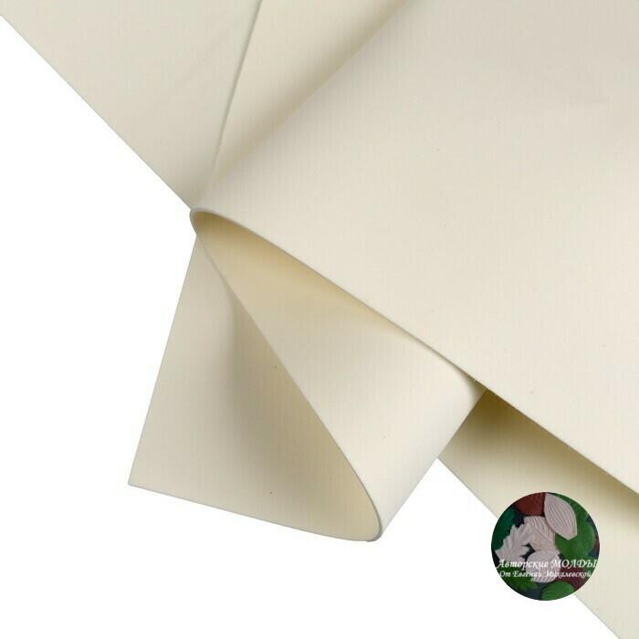 2мм 60х70см Иранский Фоамиран - Слоновая кость