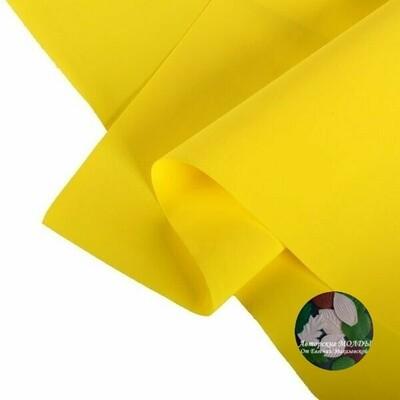 1мм 60х70см Иранский Фоамиран - Желтый