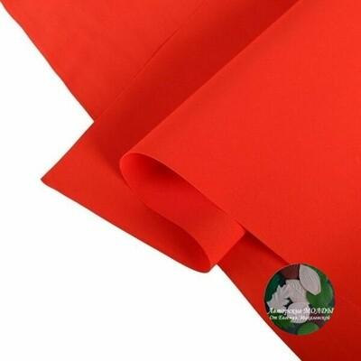 1мм 60х70см Иранский Фоамиран - Темно красный