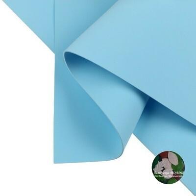 1мм 60х70см Иранский Фоамиран - Пыльно голубой