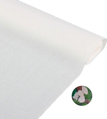 Бумага гофрированная Cartotecnica Rossi 900, белоснежный, 50 см х 2,5 м