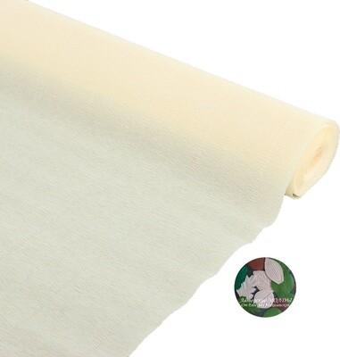 Бумага гофрированная Cartotecnica Rossi 903, слоновая кость, 50 см х 2,5 м