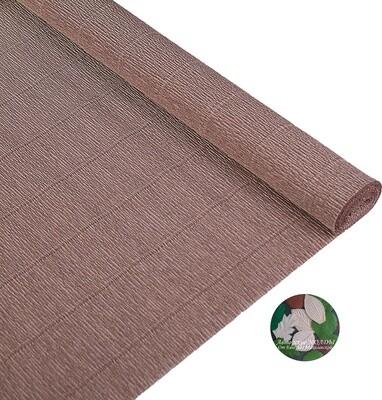 Бумага гофрированная Cartotecnica Rossi 904, серо-коричневый, 50 см х 2,5 м