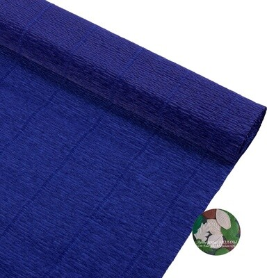 Бумага гофрированная Cartotecnica Rossi 955,  темно-синий, 50 см х 2,5 м