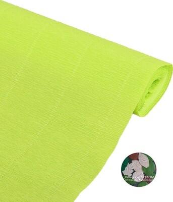 Бумага гофрированная Cartotecnica Rossi 958, светло-зеленый, 50 см х 2,5 м