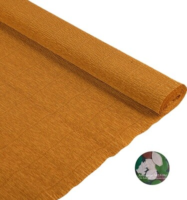 Бумага гофрированная Cartotecnica Rossi 967, ореховый, 50 см х 2,5 м