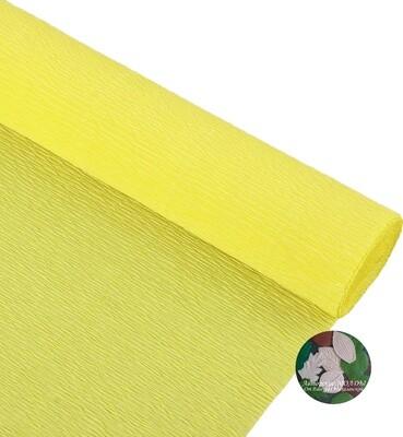 Бумага гофрированная Cartotecnica Rossi 974, карминно-желтый, 50 см х 2,5 м