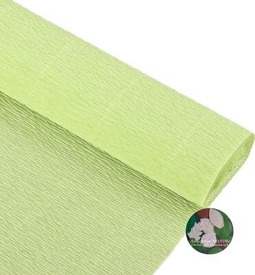 Бумага гофрированная Cartotecnica Rossi 966,  прозрачно-зеленый, 50 см х 2,5 м