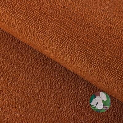 Бумага гофрированная Cartotecnica Rossi 968, какао, 50 см х 2,5 м