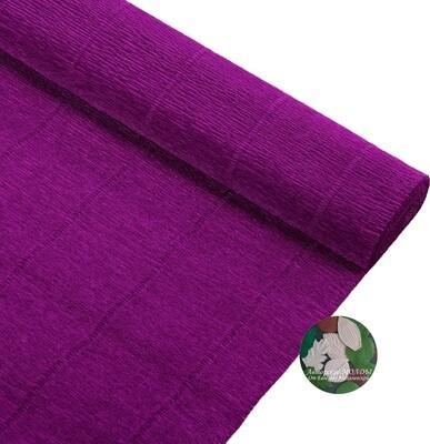 Бумага гофрированная Cartotecnica Rossi 993, фиолетовый, 50 см х 2,5 м