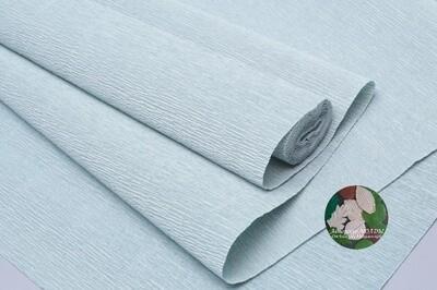 Бумага гофрированная    Cartotecnica Rossi 621 серо-зеленый, 50 см х 2,5 м