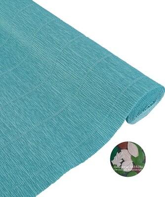 Бумага гофрированная   Cartotecnica Rossi 17E3, 2321456, голубой, 50 см х 2,5 м