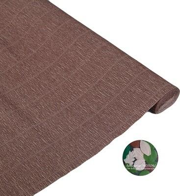 Бумага гофрированная   Cartotecnica Rossi 614, коричневый, 50 см х 2,5 м