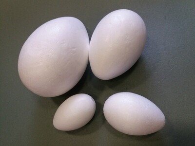 Заготовка из Пенопласта Яйцо 7х4.5см