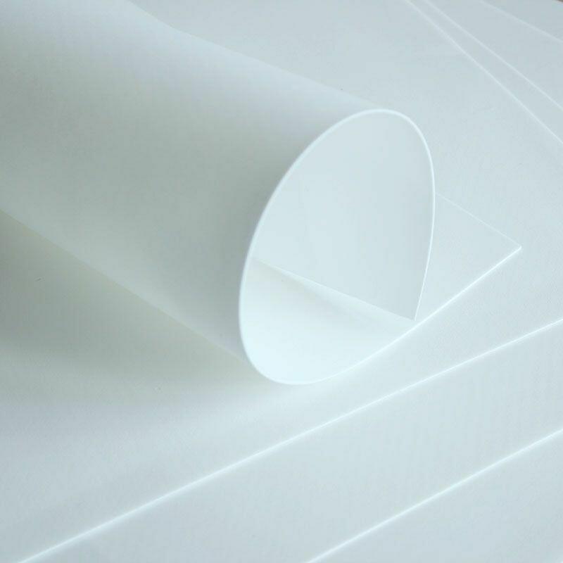 Зефирный фоамиран 2мм Белый