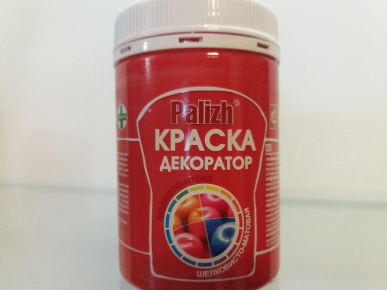 """Краска-колер Акриловая """"Palizh"""" #129 - Красный 320мг"""