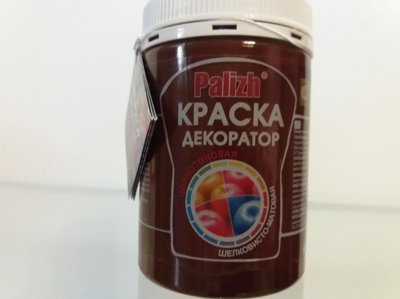 "Краска-колер Акриловая ""Palizh"" #132 - Горький Шоколад 320мг"