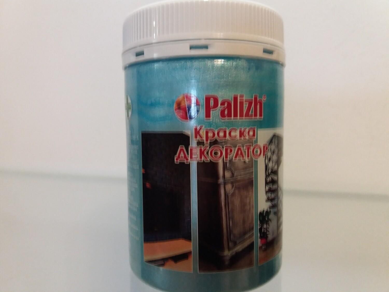 """Краска-колер Акриловая Металлик """"Palizh"""" #153 - Голубой Жемчуг 250мг"""