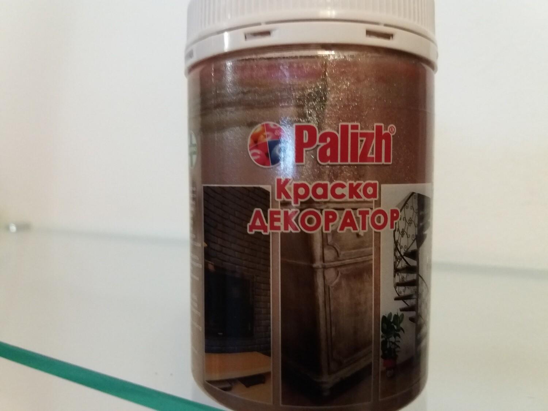 """Краска-колер Акриловая Металлик """"Palizh"""" #150 - Кремовый Жемчуг 250мг"""