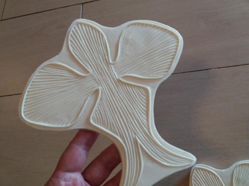 Серединка Орхидеи 16,5×16,5см, в том числе боковые Ушки 6,5×7см