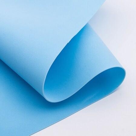 Фоамиран зефирный 1,2мм 60*70см/1л голубой