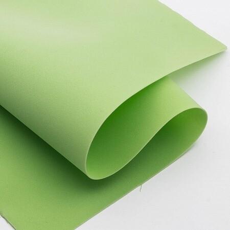 Фоамиран зефирный 1,2мм 60*70см/1л зеленое яблоко