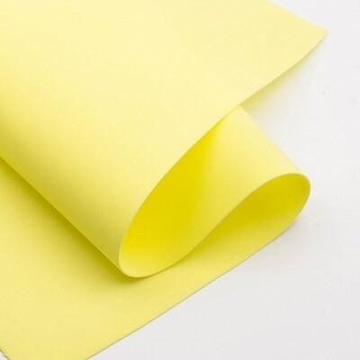 Фоамиран зефирный 1,2мм 60*70см/1л лимон