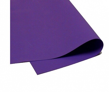 Фоамиран зефирный 1,2мм 60*70см/1л фиолетовый