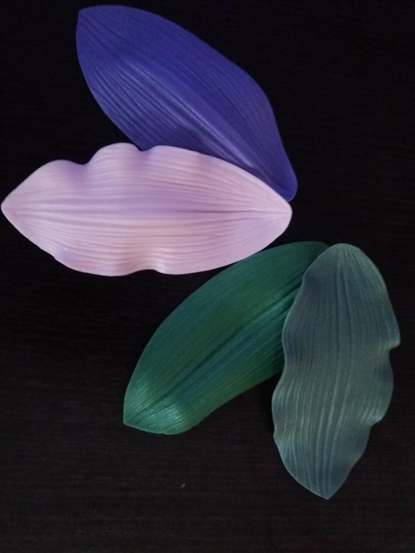 Молды КОМПЛЕКТ (2шт) Лепестки Листья Лилии 16,6×7,5см