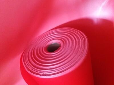 Софтин - 2мм КРАСНЫЙ ширина 100 см