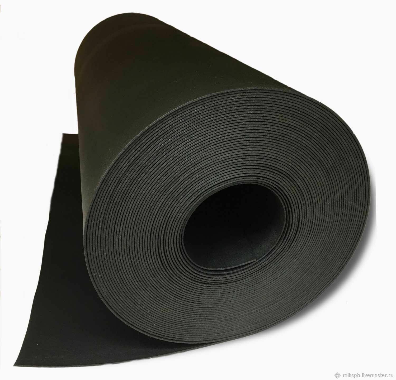 ИЗОЛОН ЧЁРНЫЙ 3мм ширина 100 см