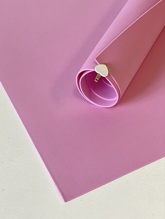 - Фоамиран 1мм 60х70см Розовый 1504