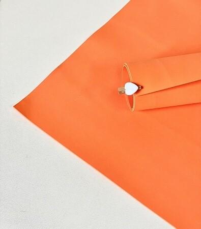 Фоамиран 1мм 60х70см  Оранжевый