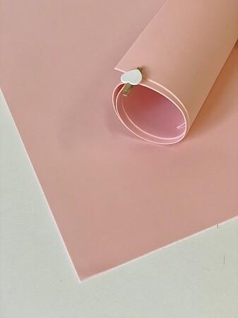 Фоамиран 1мм 60х70см  Чайная роза 1706