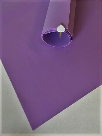 - Фоамиран 1мм 60х70см Ярко Фиолетовый 7531