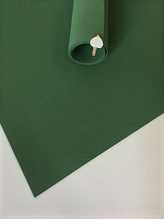 - Фоамиран 1мм 60х70см Темно Зеленый 4329