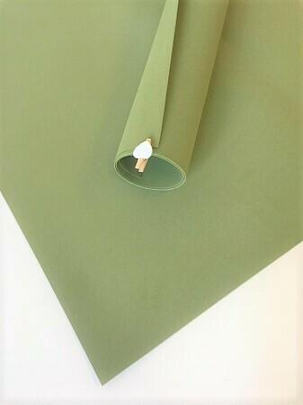 2мм 60х70см Иранский Фоамиран - Оливковый Фисташковый 173